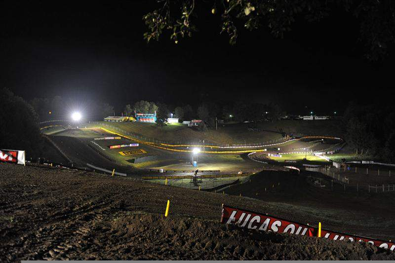 Unadilla at night.