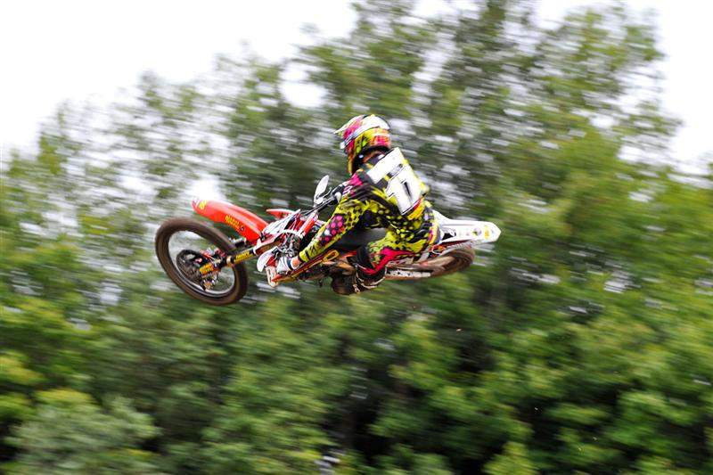 Justin Barcia was third.