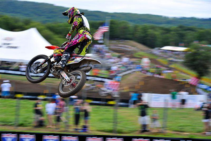 Trey Canard was fourth fastest.