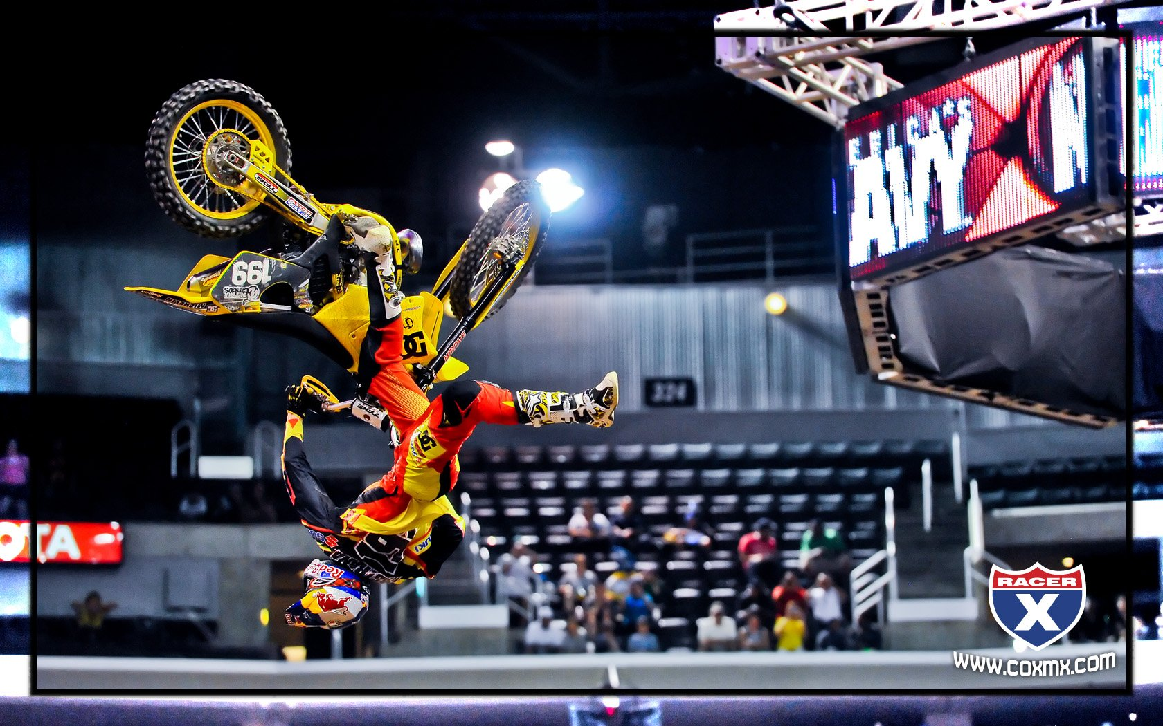 X games wallpapers racer x online pastrana pastrana throws a nac nac flip in speed style voltagebd Image collections