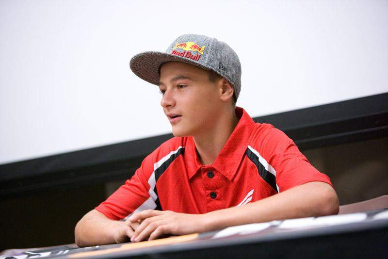 Honda 150 Cup rider Cooper Webb