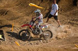 Metcalfe's crash may have cost him his first-ever AMA National overall.