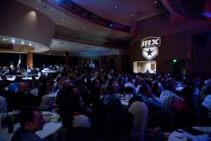The awards ceremony was held at Pala Casino