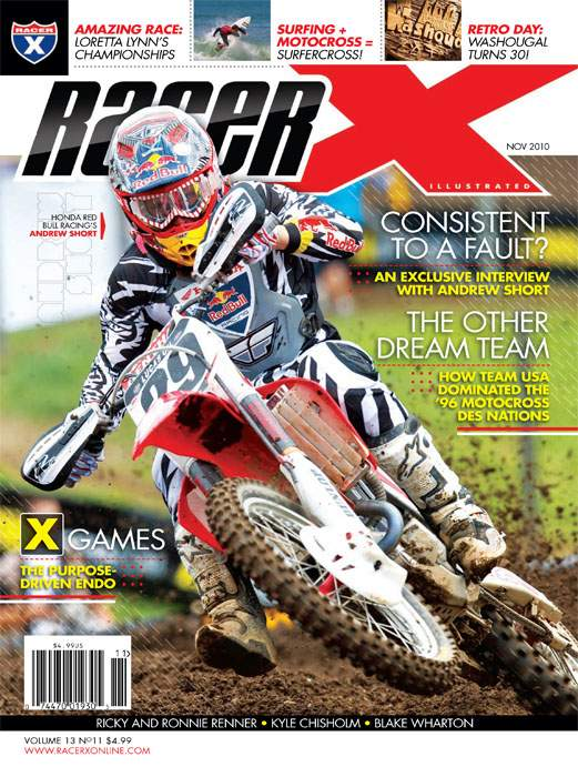The November 2010 Issue - Racer X Illustrated Motocross Magazine
