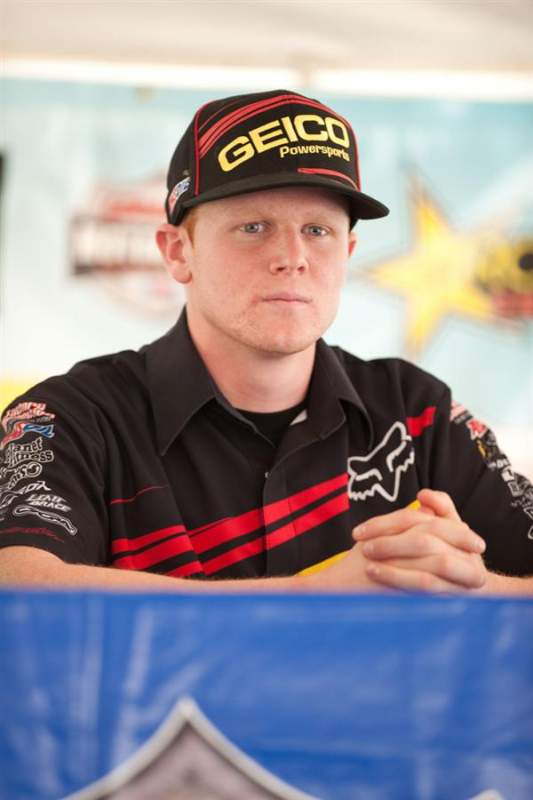 Trey Canard seems focused for Saturday.
