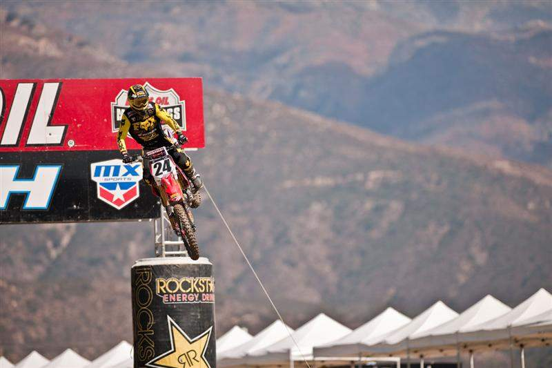 Metcalfe has come very close to moto wins two weekends in a row. He's familiar with Pala's dirt. Is this the weekend?