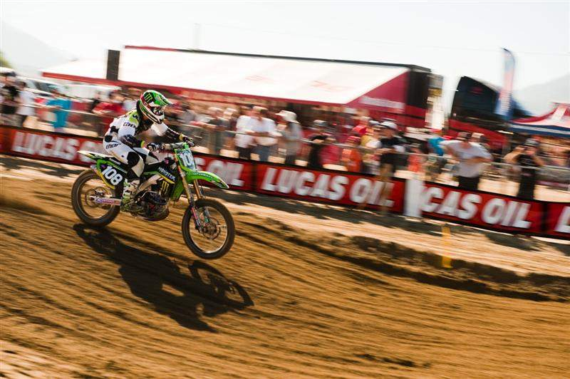 Dean Wilson was third-fastest.