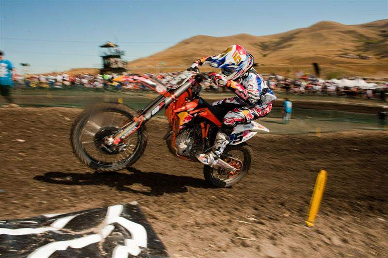 Marvin Musquin was second-fastest in MX2 qualifying.