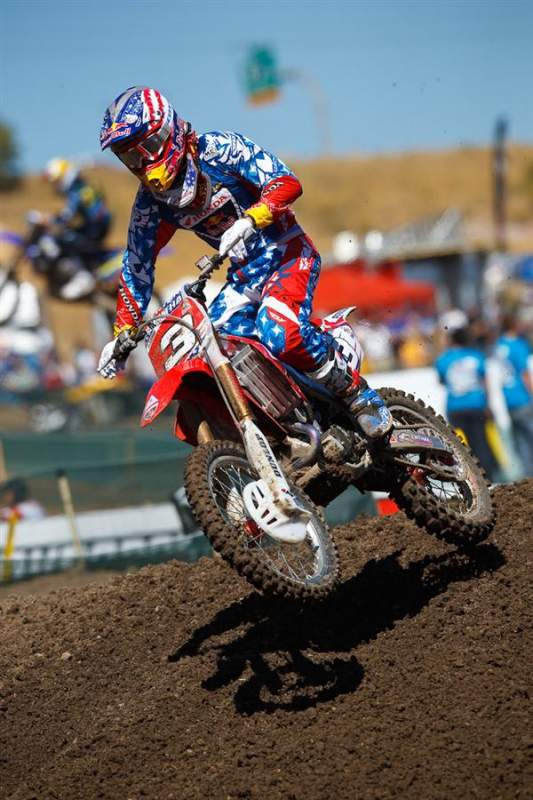 Andrew Short was third-fastest in MX3 qualifying.