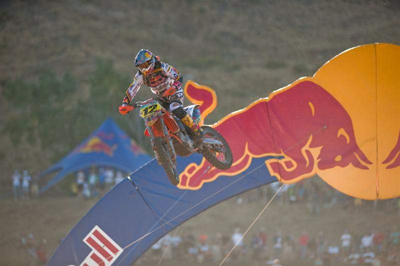 Max Nagl finished fifth for Germany.