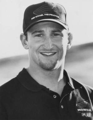 Scott Sheak was a member of Team Honda in 1997.