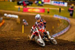 Windham went 1-2 for the overall win, becoming only the third different 450cc winner outdoors this year.