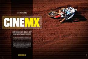 Filmmaker Tyler Congdon's newest moto epic, MOTO2, sets a new standard for motocross cinematography and storytelling. Page 178.