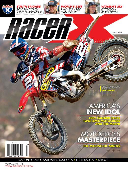 The December 2010 Issue - Racer X Illustrated Motocross Magazine