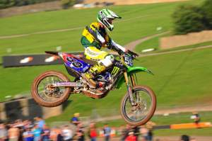 Metcalfe has ridden for Australia in the MXoN a bunch of times. This was 2008 in England.