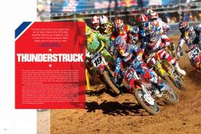 Held in the shadow of the Rocky Mountains, the 2010 Motocross of Nations provided a picturesque setting for Team USA's sixth consecutive win. Page 160.