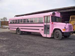 The Pink Bus will take spectators down to Ironman Hill at this weekend's GNCC.