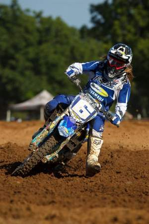 Vicki Golden grabbed fourth in points in the WMX this year.