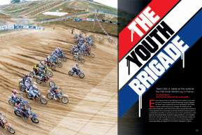 The junior version of Team USA competed in August's FIM Youth World Cup in France, and team boss Brian Noah gives us the full story. Page 202.