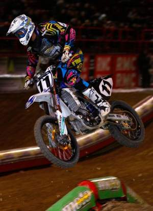 Kyle Chisholm had a consistent weekend in Bercy.