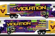 First Look: Team Violation Semi Truck