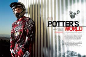 He may have gained notoriety through reality TV—behaving badly on it and dating one of its biggest stars—but freestyler Todd Potter isn't so easy to label. Page 132.