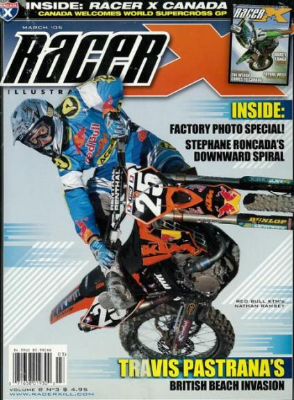 Racer X Cover Image March 2005