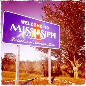 We headed down to Mississippi for the party.