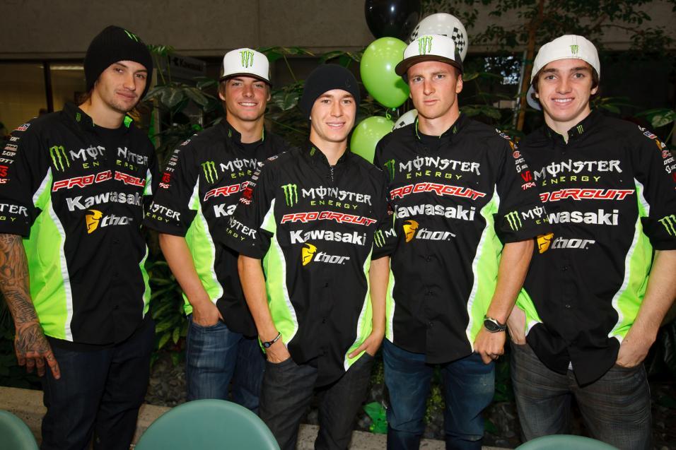 Gallery: Kawasaki Team Intro