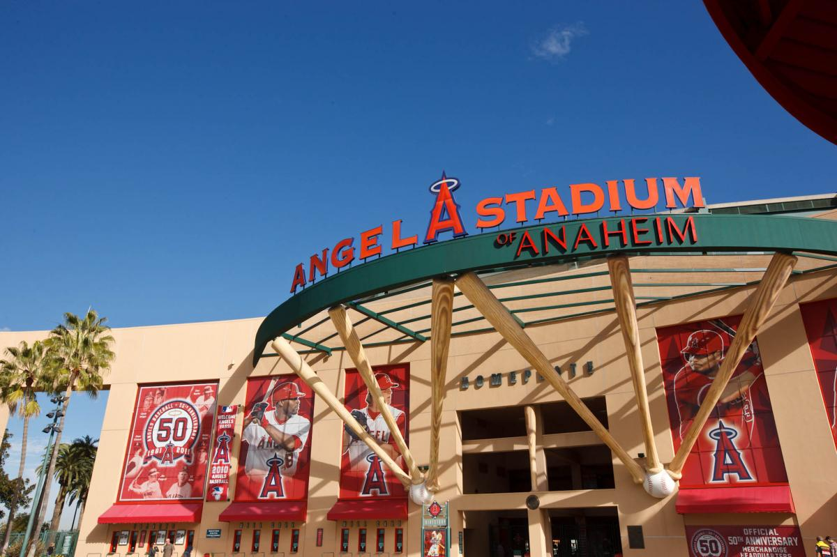 Angel Stadium entrance