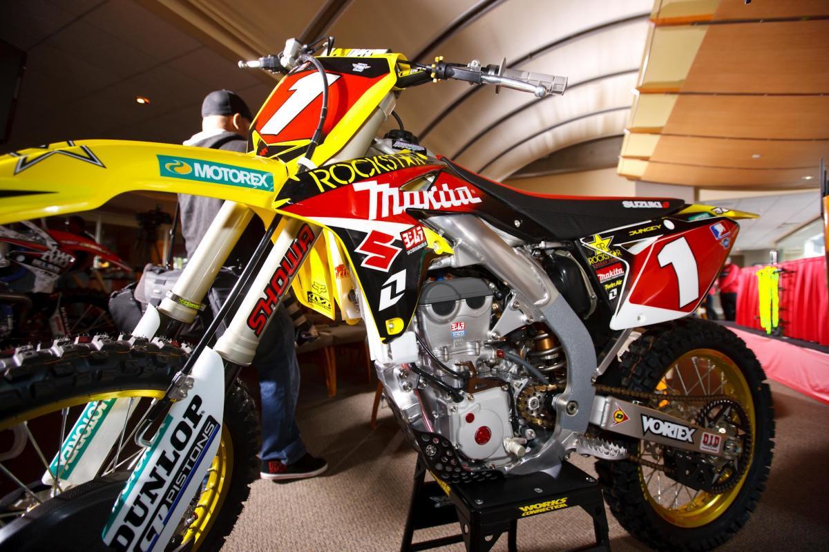 Ryan Dungey's Suzuki