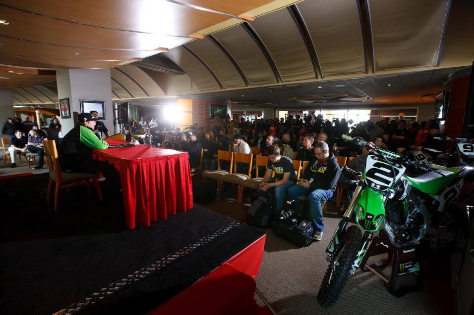 Anaheim SX Press Conference Gallery