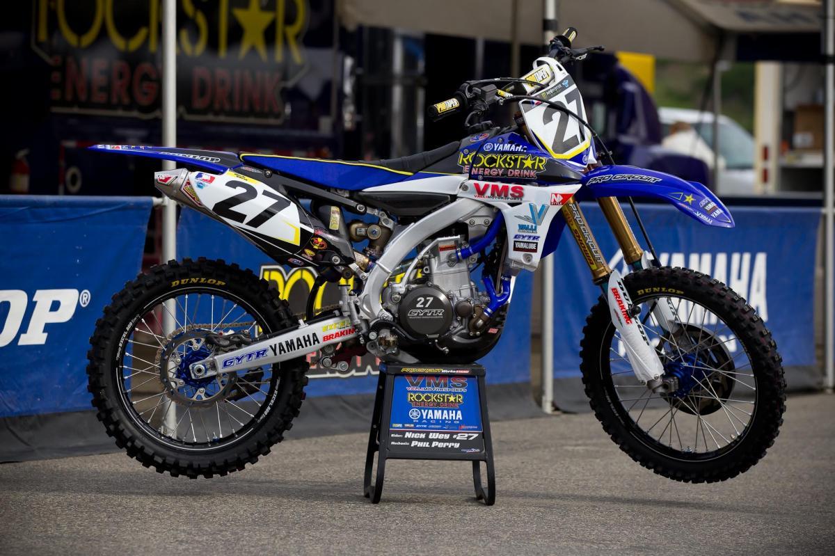Nick Wey's Valli Yamaha