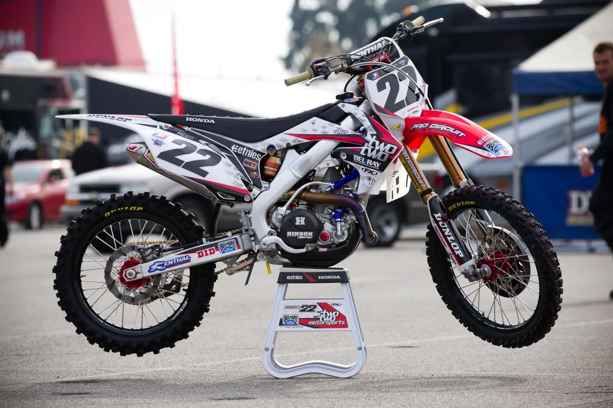 Chad Reed's TwoTwo Motorsports Honda