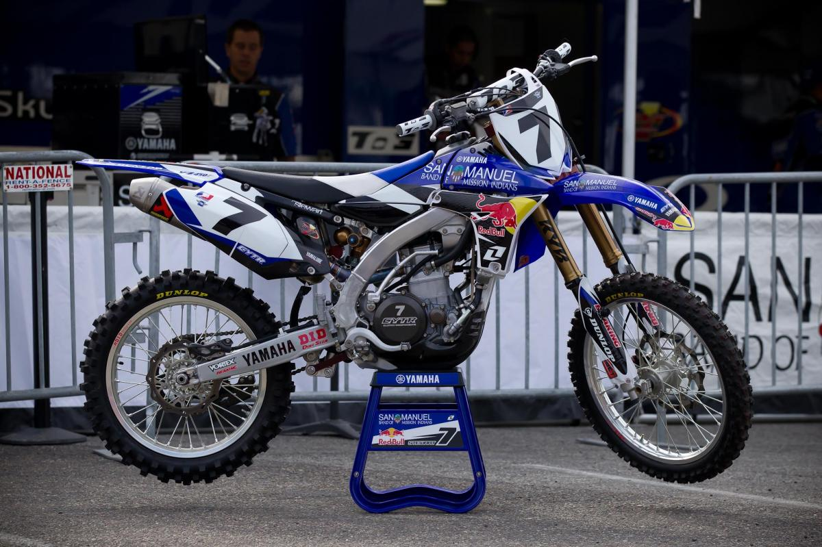 James Stewart's Yamaha