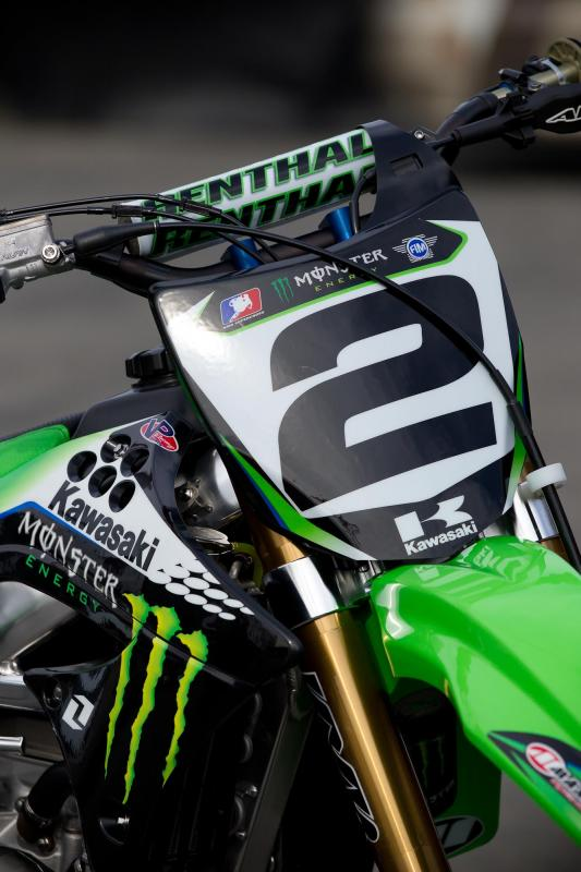 Ryan Villopoto's Kawasaki