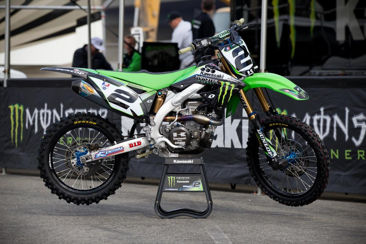 Ryan Villopoto's Kawasaki (Mechanic- Mike Williamson)