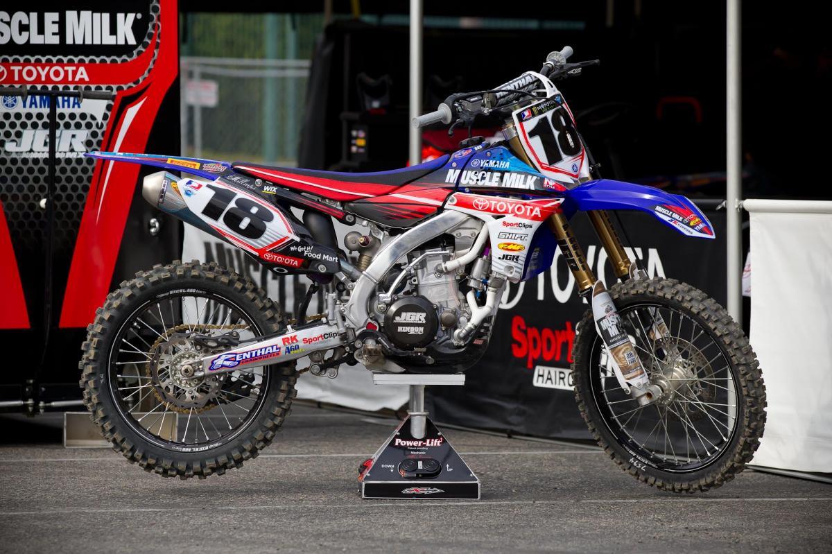 Davi Millsaps' JGR Yamaha