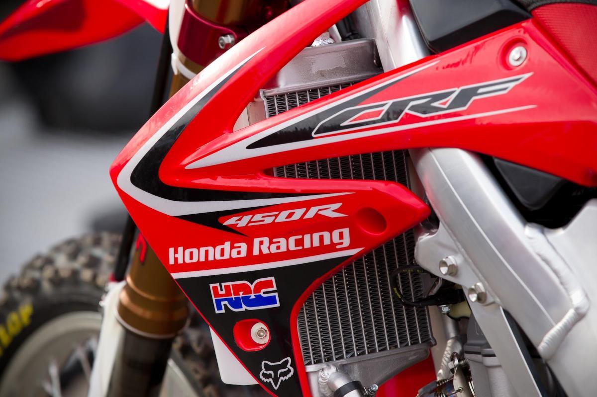 Trey Canard's Honda