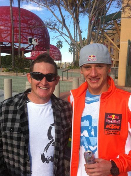 Ricky Carmichael & Ken Roczen