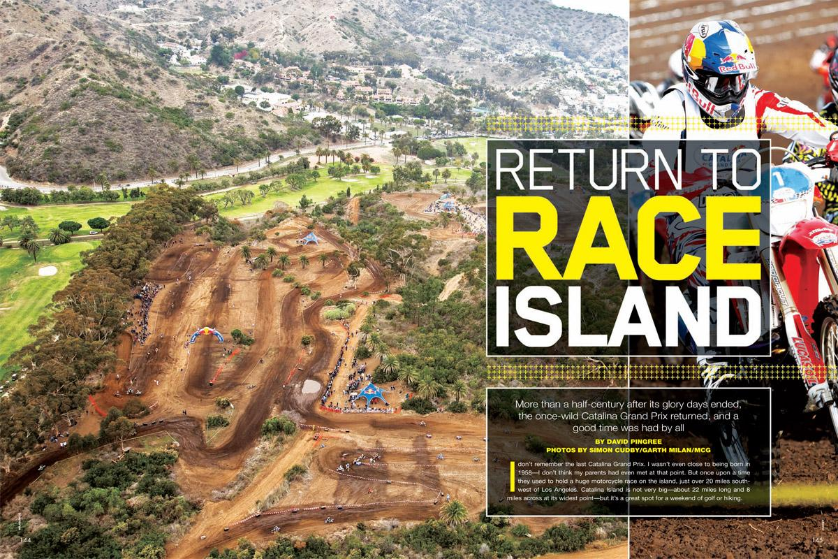 Return to Race Island