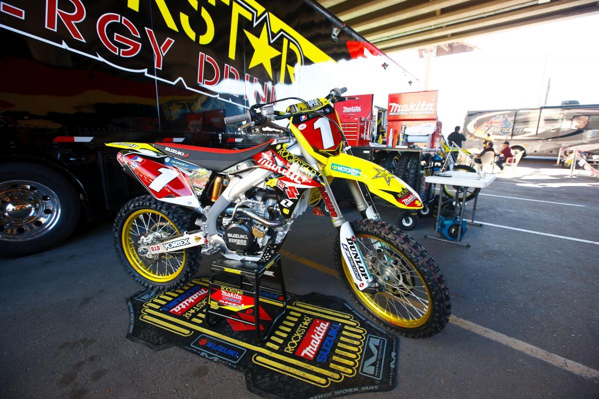 Ryan Dungey's Suzuki 450
