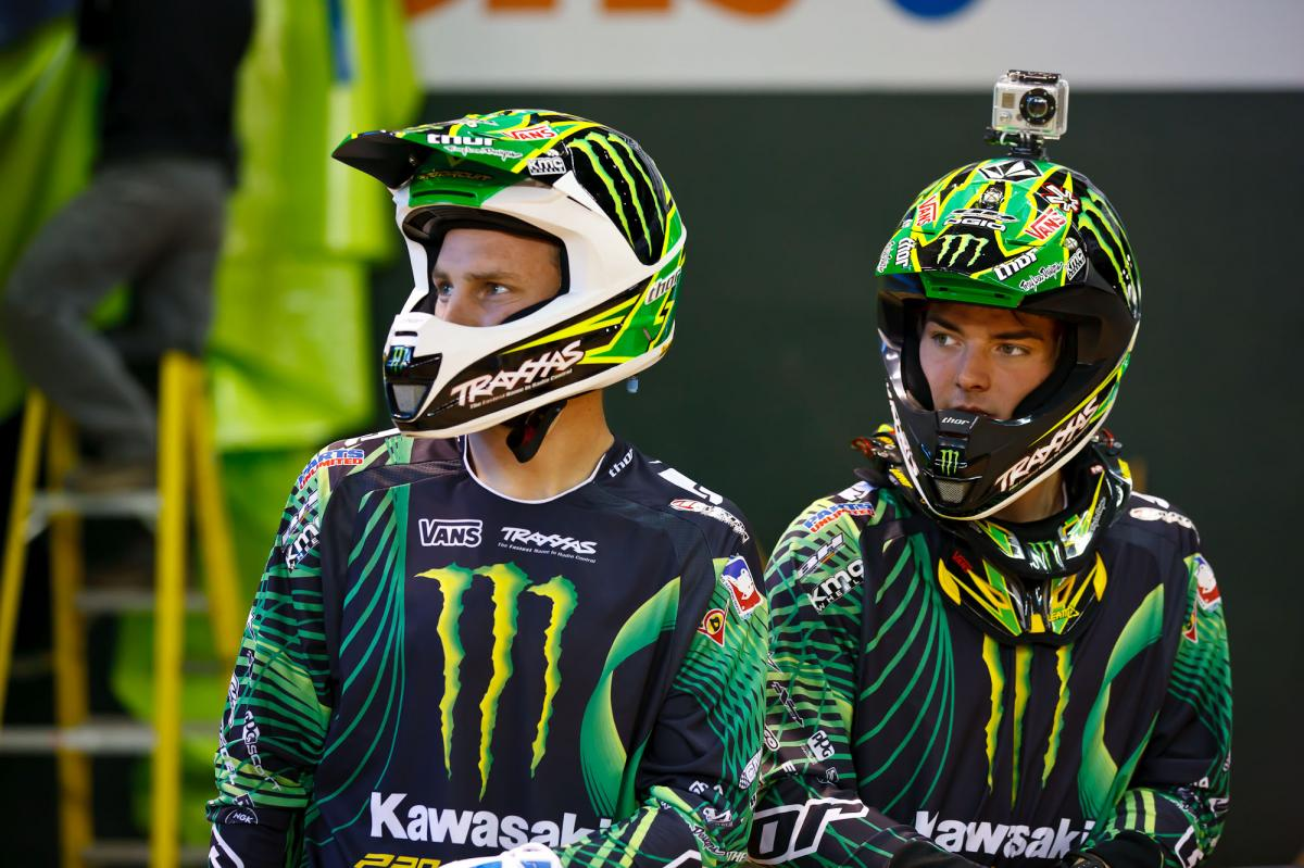 Tyla Rattray and Broc Tickle