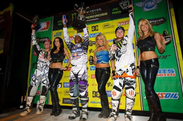 James Stewart, Ryan Villopoto, Trey Canard