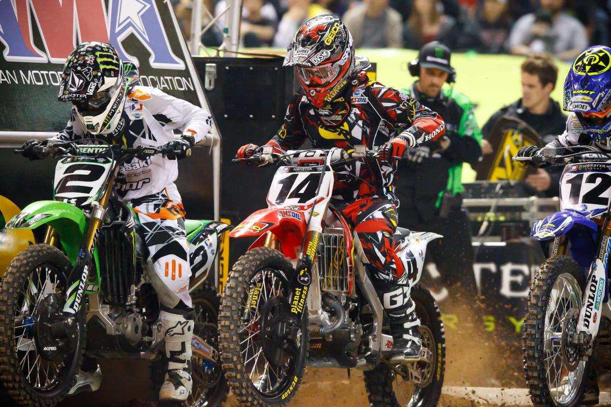 Ryan Villopoto and Kevin Windham