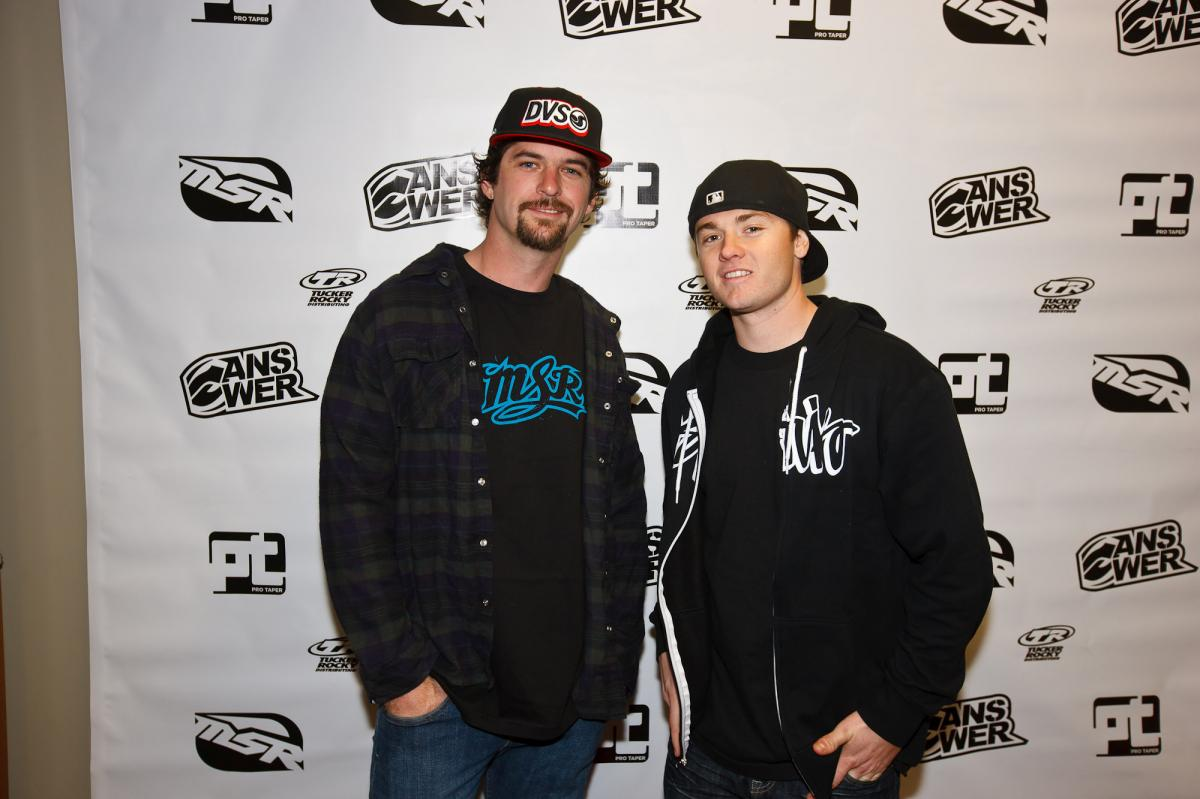 Kevin Windham and Josh Grant