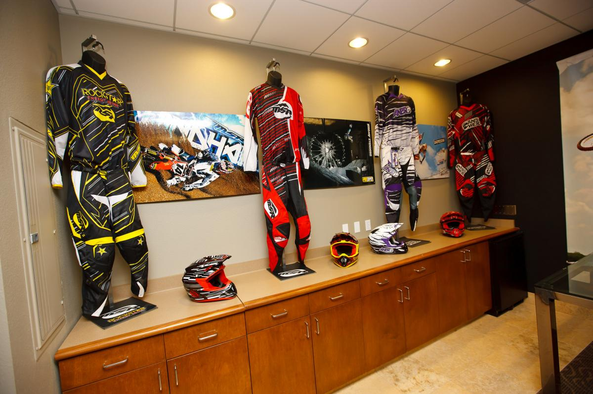 New gear on display