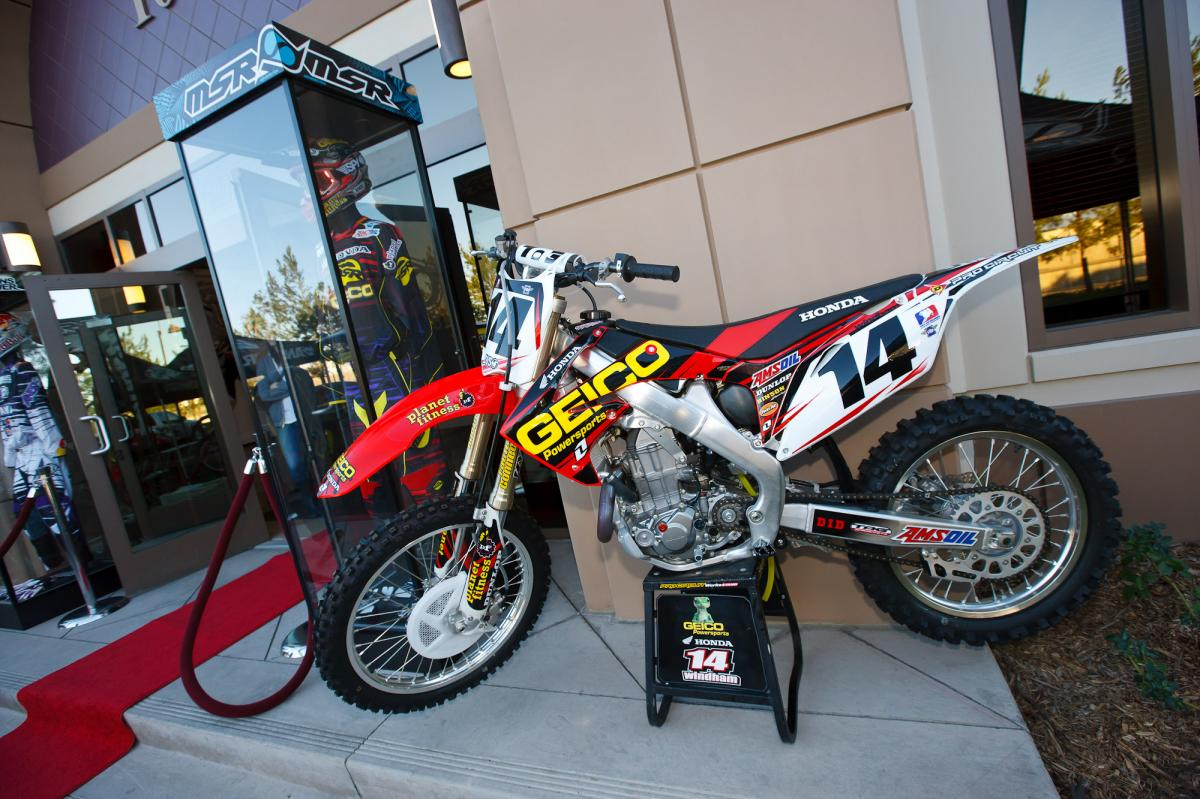 Kevin Windham's Geico Honda