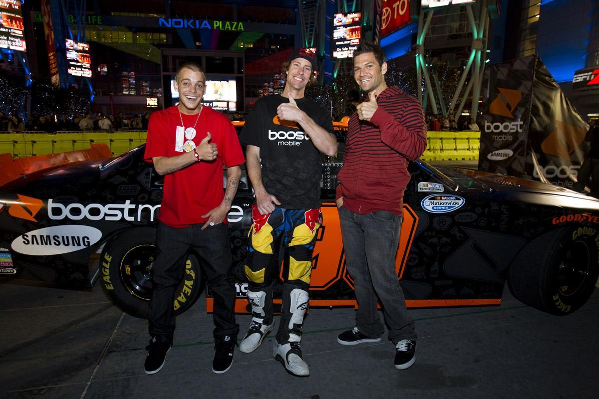 Skate, NASCAR, Motocross.