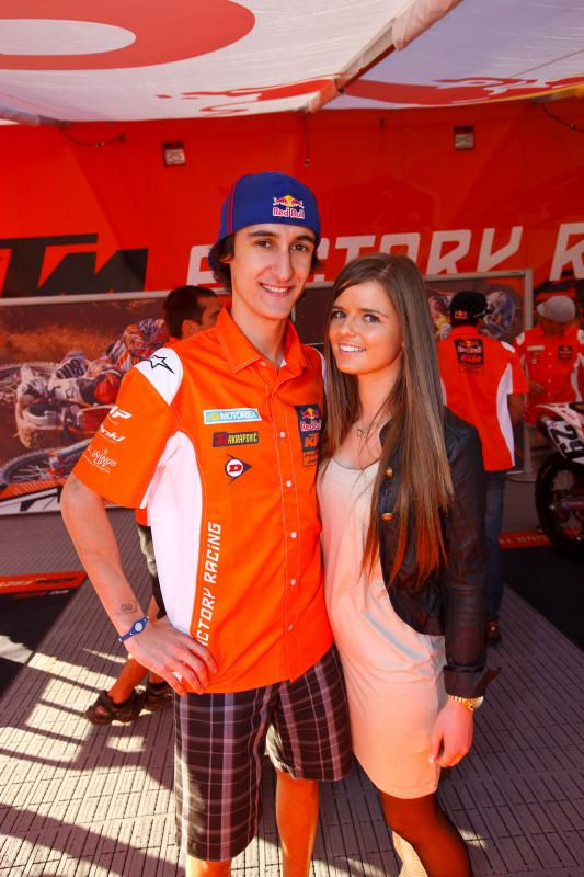 Marvin Musquin and his beau